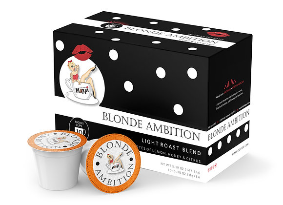 CASE Blonde Ambition (10) 10 count Moxxi Cups
