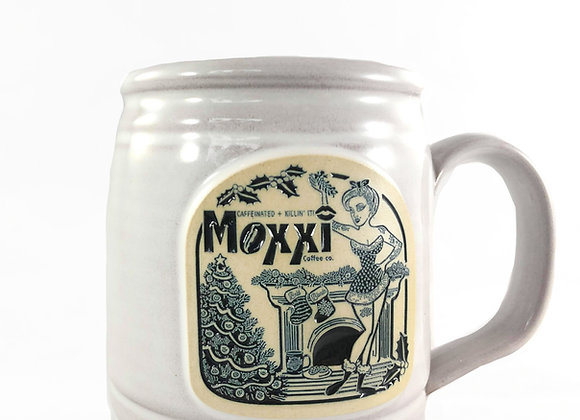 Limited Edition 2020 Moxxi Christmas Mug from Deneen Pottery