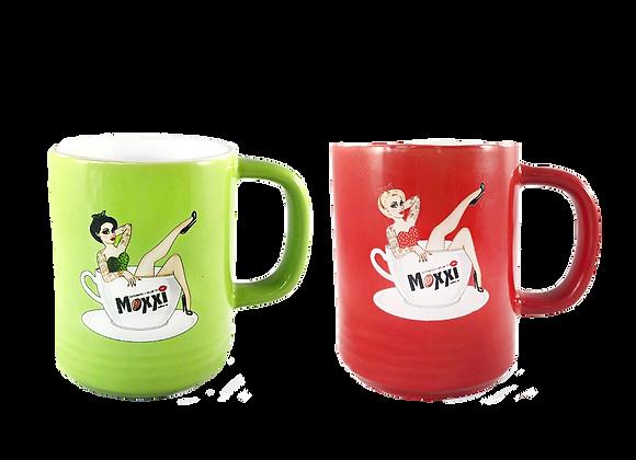 Moxxi Diner Mug and Enamel Pin-(Mugs Sold Separately)