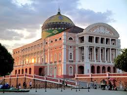 Foto: Exterior do Teatro Amazonas