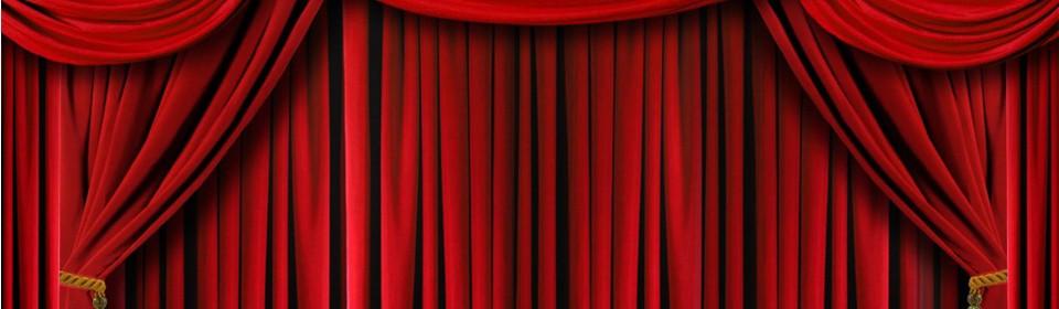 Imagem: Cortina de Teatro Fechada