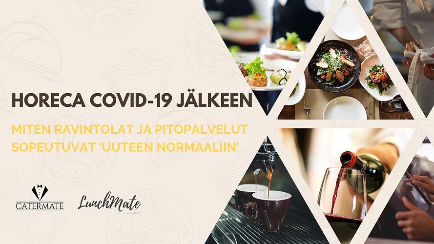 Verkkotapahtuma HoReCa covid-19 Jälkeen