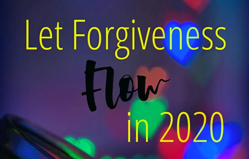 Let Forgiveness Flow!