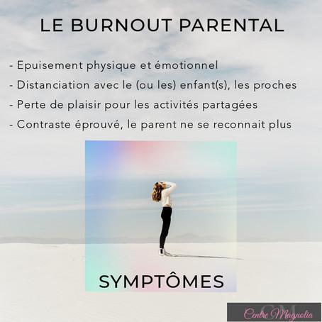 Symptômes du Burnout Parental