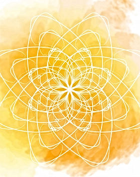 aquarelle-jaune-mandala-fleur-blanche_11