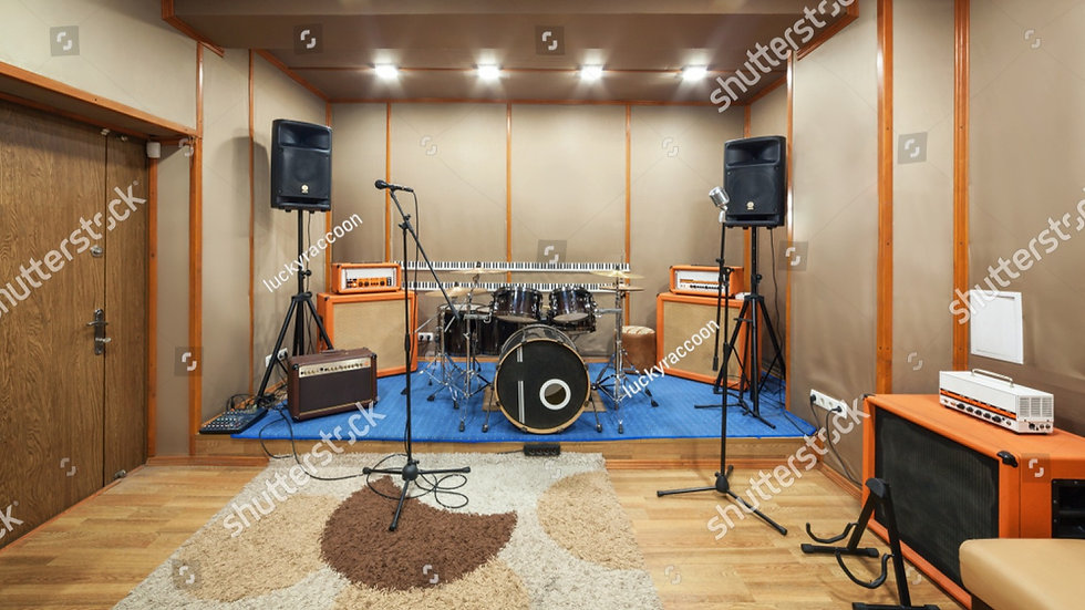 stock-photo-music-rehearsal-space-with-d