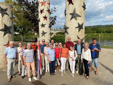 Gruppe der Gocher Senioren-Union auf Seminarreise
