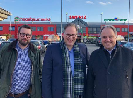 Bürgermeisterkandidat Baumann: Um den Mittelstand vor Ort kümmern