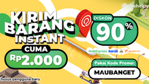 Kirim Barang untuk Pengguna Baru, Bisa Dapat Diskon 90% Sampai Rp 25.000!