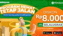 Wehelpyou Delivery: Kirim Barang Pakai GrabExpress, Dapat Diskon Ongkir Rp 8.000!