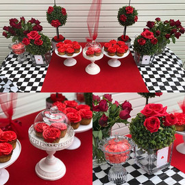 Up close #redrosecupcakes #redroses🌹 #a