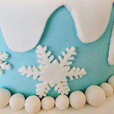 Frozen❄️ birthday cake, details matter..