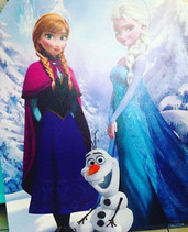 Frozen❄️ birthday party photo-booth #fro