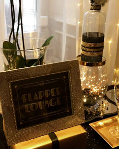 A close up of The Flapper Lounge 🥂🖤#19