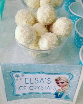 Frozen❄️ birthday party Elsa's ice cryst