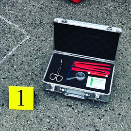Crime scene details 🔍🔫✂️🚨 #detectiveb