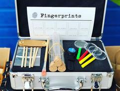 #forensicskit  for #kids 🔍⏱🔬#magnifyin