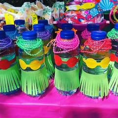 Hula bottles because everyone enjoys a f