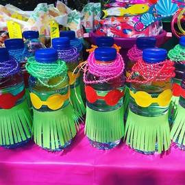 Hula bottles because everyone enjoys a f
