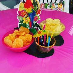 Luau party 🏝🍹Cocktail snacks #luau #lu