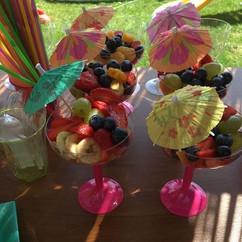 Luau🏝 party TIKI Bar Fruit cocktails 🍹