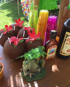 Luau🏝 party TIKI bar details...jpg