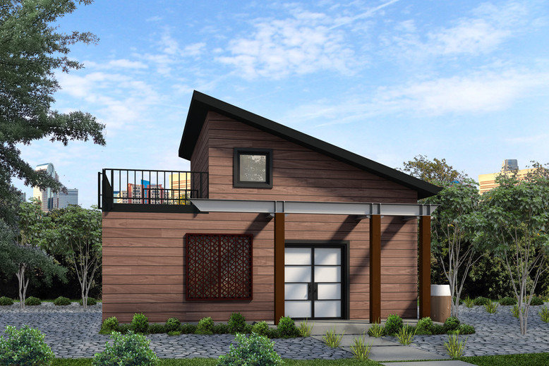 The Gulch 1 Level by Smarter Living Homes (Tiny Home's Bigger Sister)