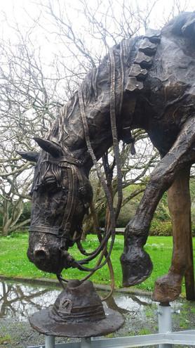 War Horse/ Te Utu (detail) Hamilton City NZ