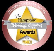 hamphire wedding videography awards