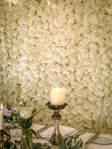 Flower wall by Event Perfection