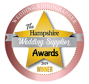 hampshire wedding videography awards