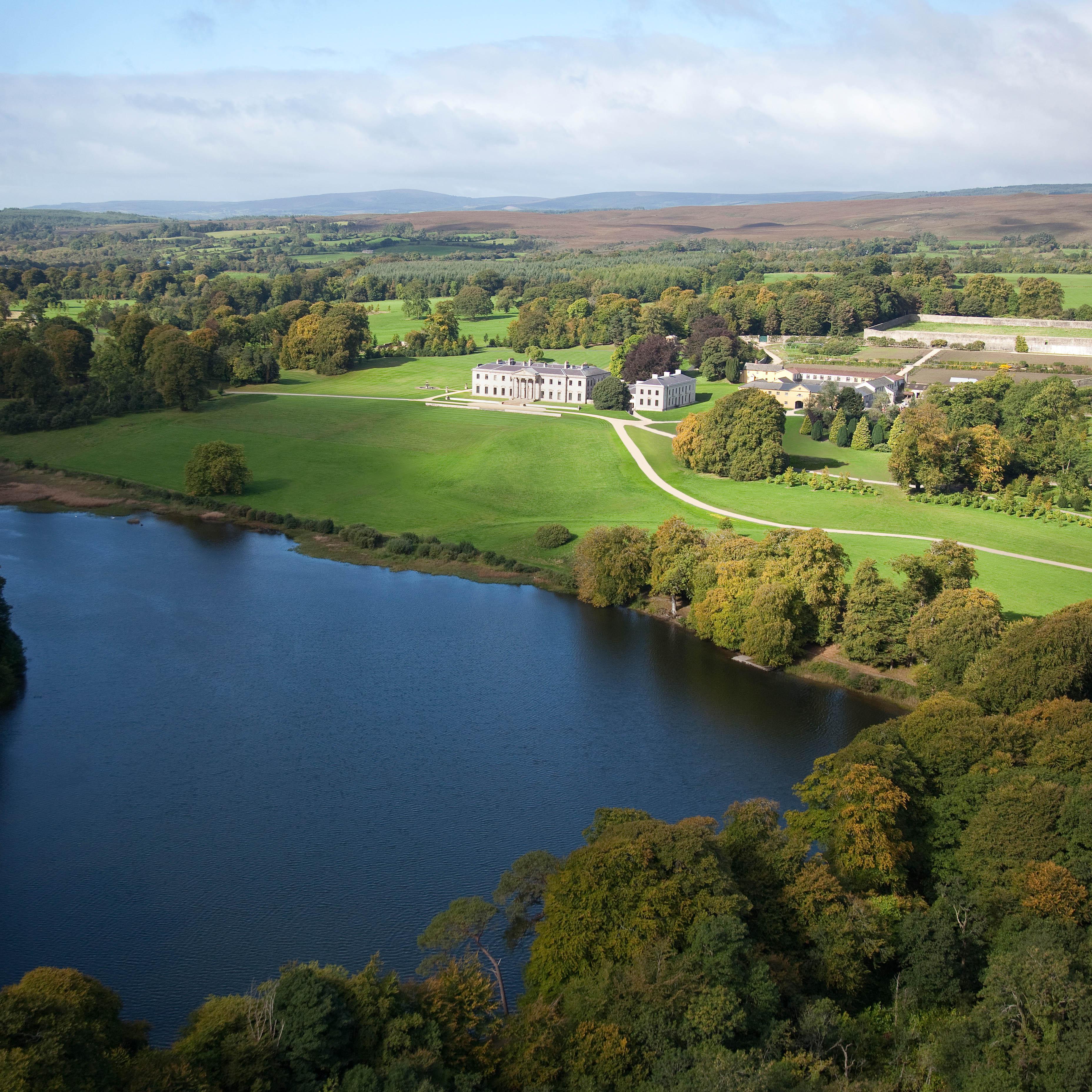 Ballyfin Aerial View