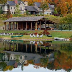 Twin Farms Lake at Day