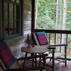 Twin Farms Log Cabin
