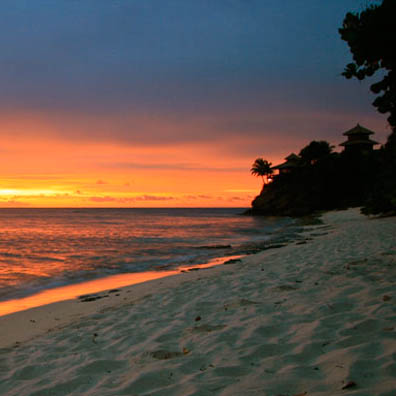 Necker Island Sunset