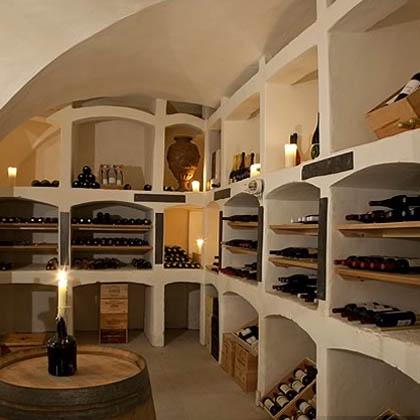 Ballyfin Wine Cellar