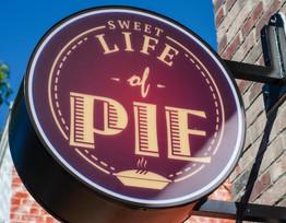 Life of Pie Signage
