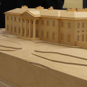 Wooden scale model