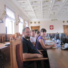 Участие в пленарном заседании о примирении