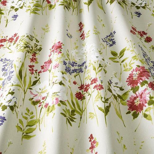 Ткань из коллекции Flower art, Wild meadow,magenta