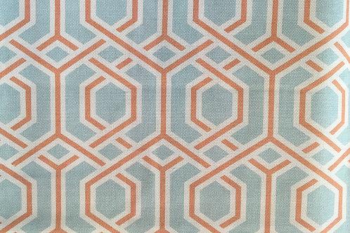 Ткань из коллекции Cotonello Cinnia H 07 Naranja