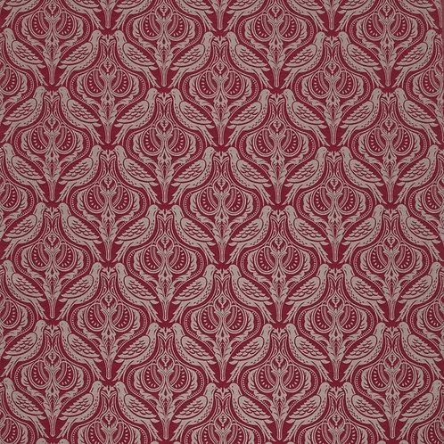 Ткань из коллекции ILIV Country. Каталог: Manor. Арт.Dawn Chorus, цвет - Ruby
