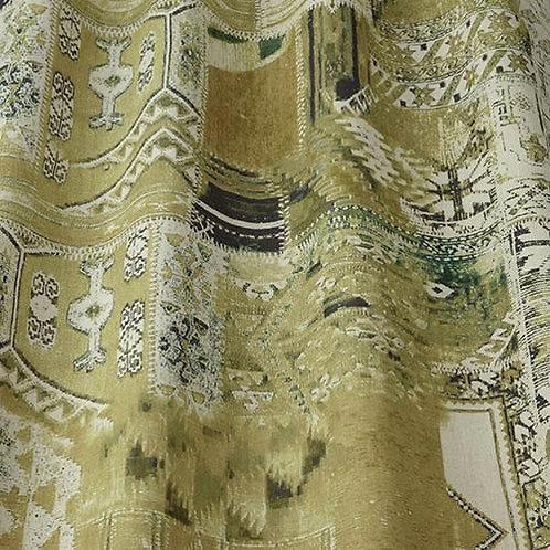 Ткан из коллекции Iliv, Samira, Арт.Nakita, цв.oliva
