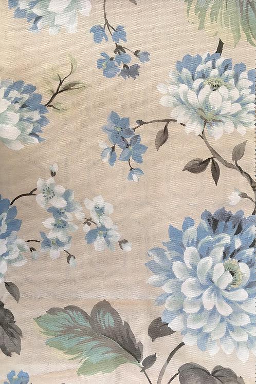 Ткань из коллекции Cotonello Cinnia A 82 Azul Grisaceo