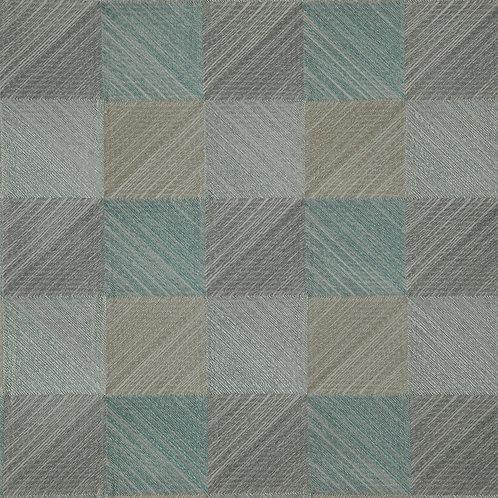 Ткань из коллекции Geometric, Арт. Quadro, Aquatic