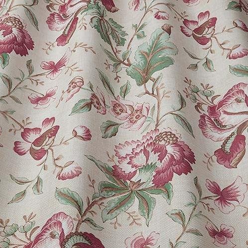 Ткань из коллекции Flower Art, Country Manor, ruby