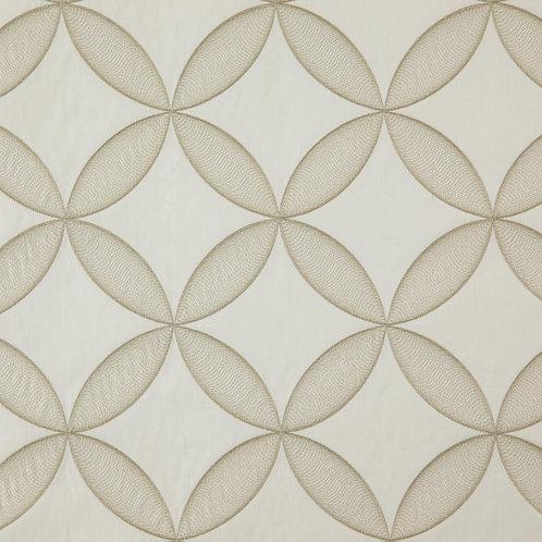Ткань из коллекции Geometric, Арт.  Sphere, Цв. Snow