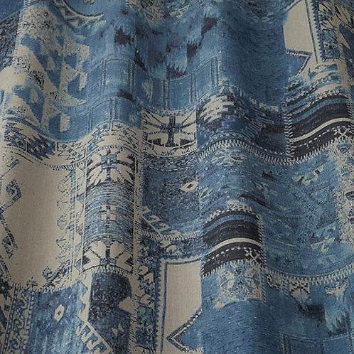 Ткань из коллекции Iliv, Samira, Арт.Nakita, цв. indigo