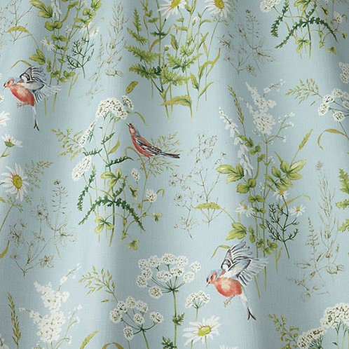 ткань из коллекции Flower art, Forever spring, Eau De Nil