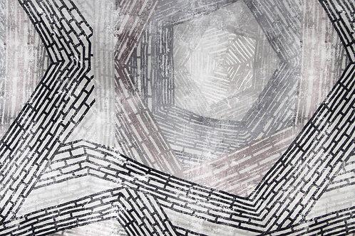 Ткань из коллекции Twister Nomad B 06 Gris